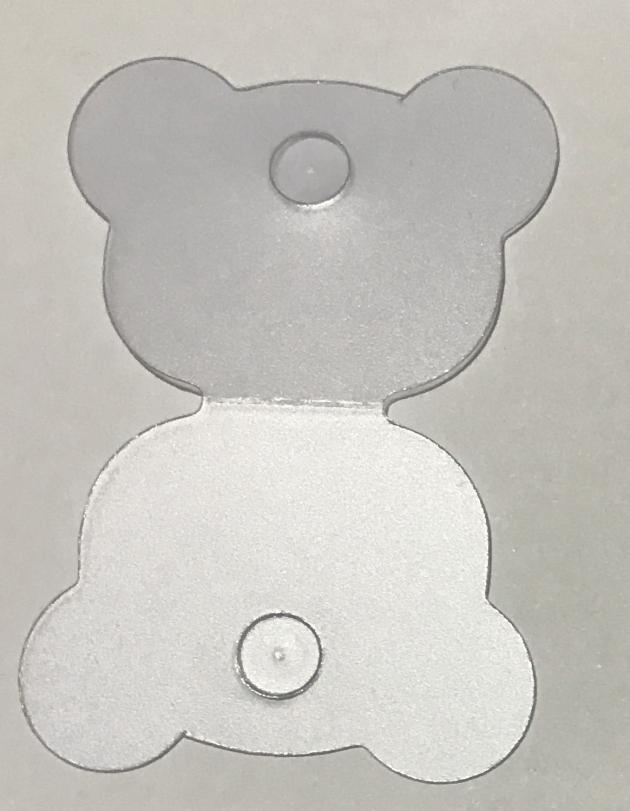 半霧PVC吊牌 6